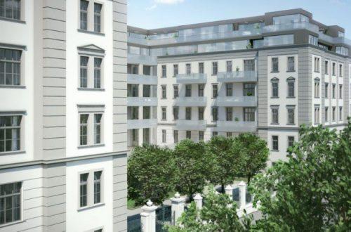 """Dachgeschossausbau und Haussanierung """"Das Hamerling"""" (Wien)"""